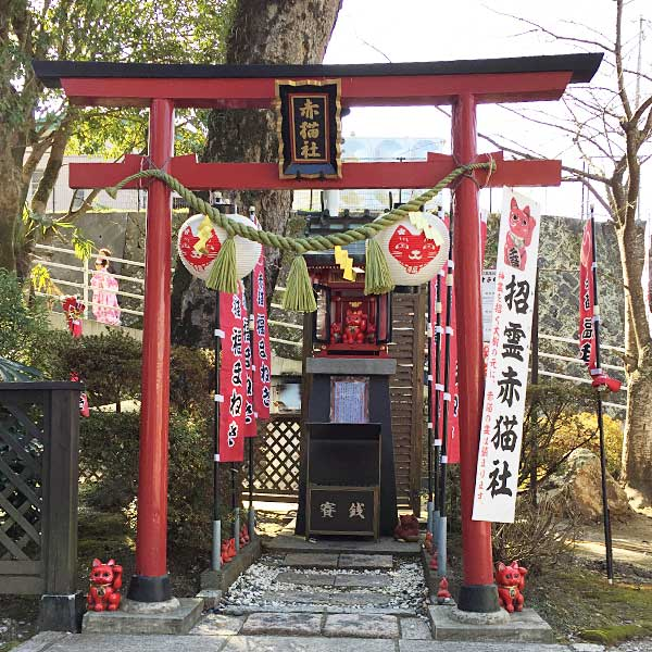 大分県臼杵市の赤猫神社
