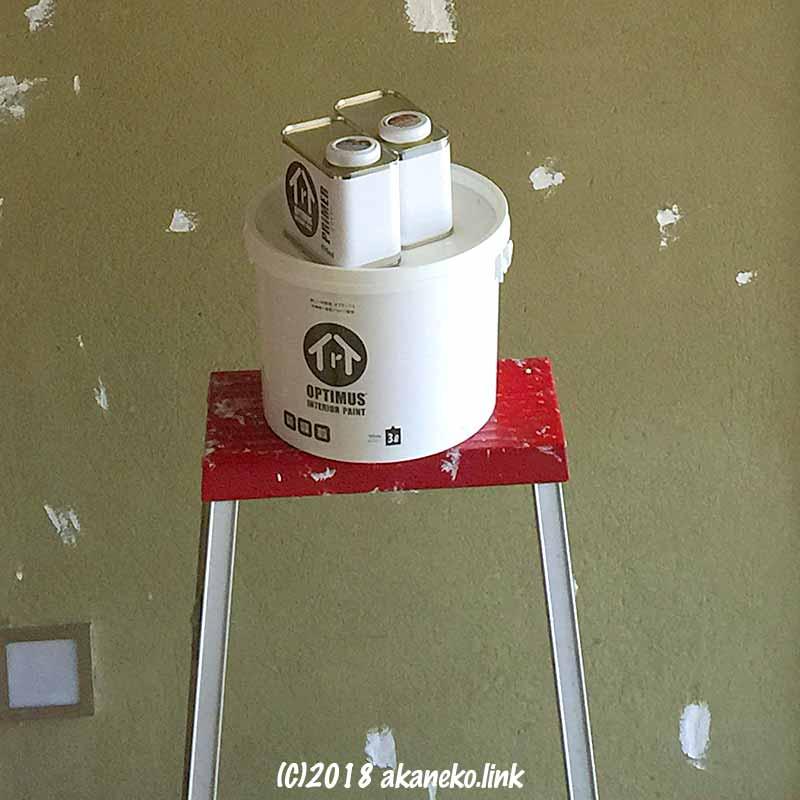 オプティマス塗料とプライマー
