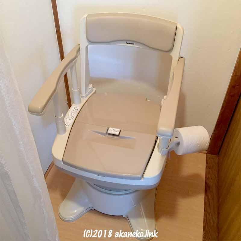 パナソニックのポータブルトイレ