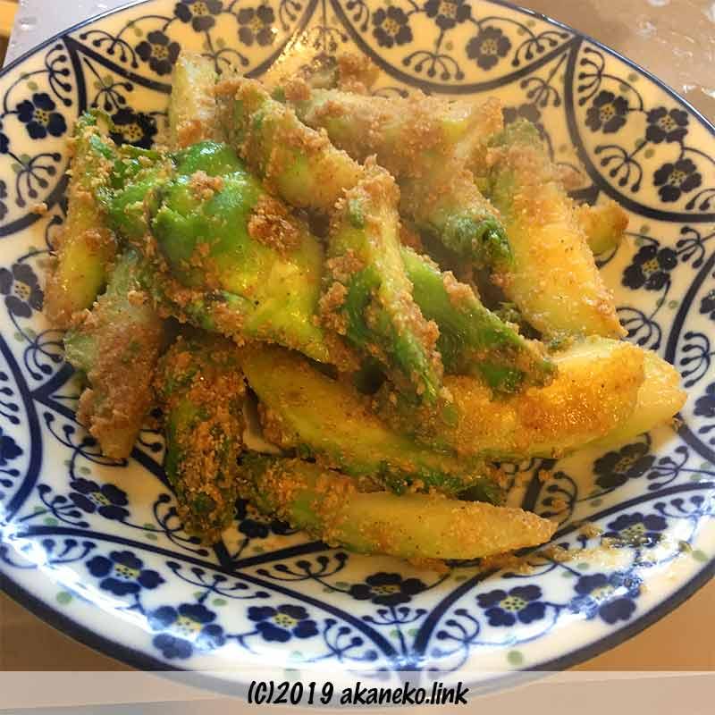 蕾菜(祝蕾・子持ち高菜)の胡麻和え